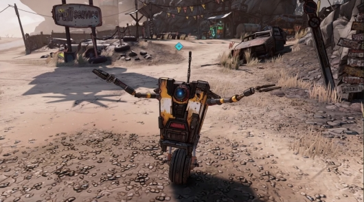 Borderlands 3 Claptrap