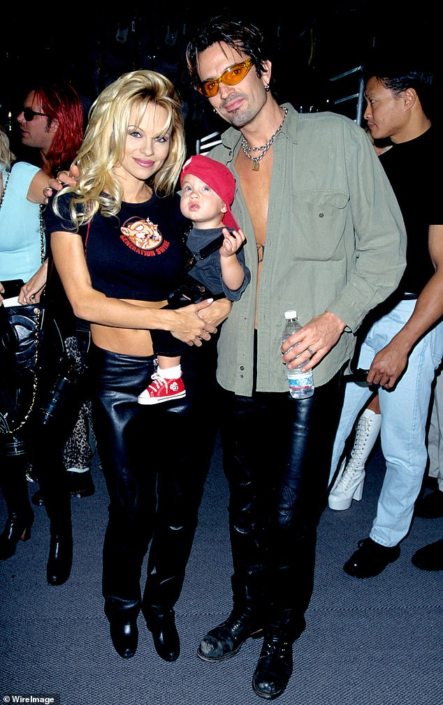 'They're both doing well, in spite of us!' Pam joked that her boys are doing well despite having herself and ex-husband Tommy Lee as parents
