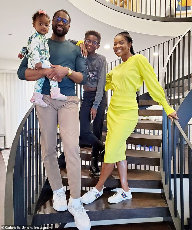 Grateful:The post came hours after she shared a sweet family snap from their Thanksgiving celebration