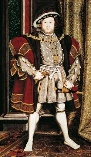 Henry VIII Tudor by Hans Holbein