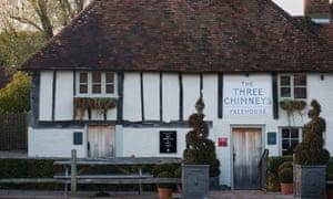 The three chimneys pub, Biddenden