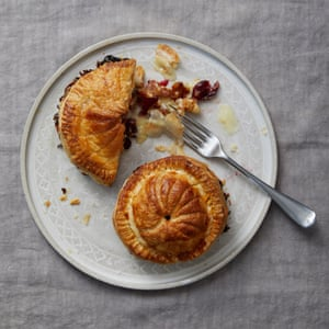Great British Bake-Off contestants New Year Meal 2019: Michael's camembert and walnut pithiviers