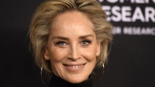 Sharon Stone pictured in February 2019