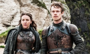 With Gemma Whelan in Game Of Thrones.