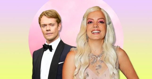 Alfie Allen and Lily Allen