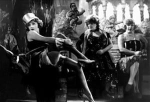 Marlene Dietrich in Josef von Sternberg's The Blue Angel.