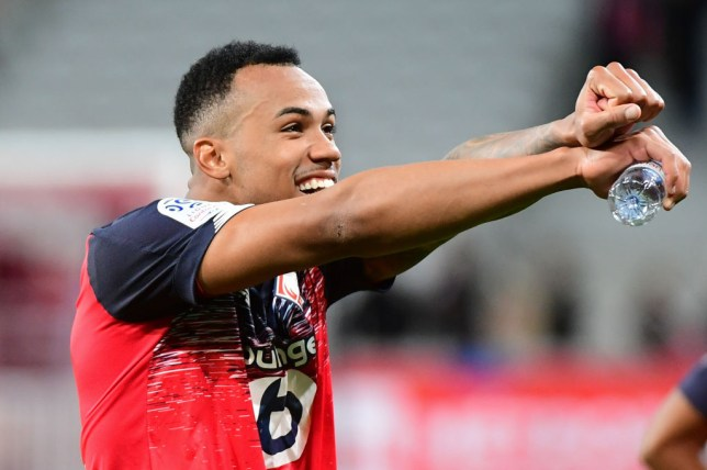 Lille's Gabriel is among the central defenders Arsenal are monitoring ahead of the January transfer window