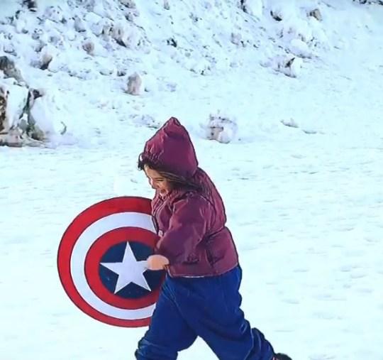 Avengers' Lexi Rabe (Morgan Stark)