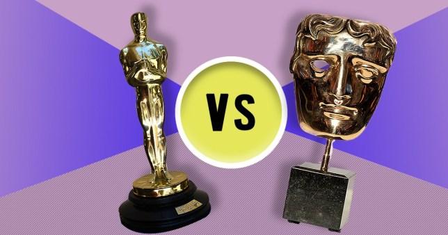 Oscars versus Bafta