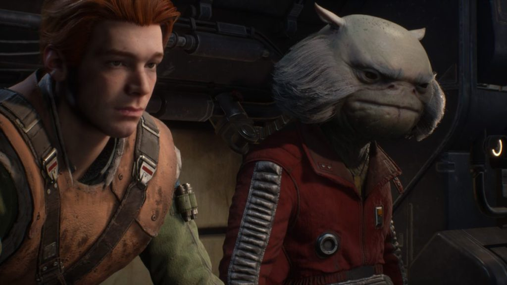 Jedi Fallen Order Review Cal and Greez Story