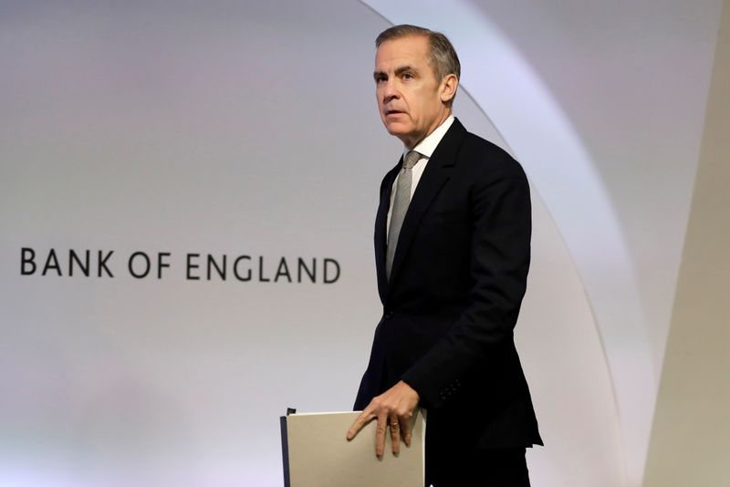 © Reuters. FILE PHOTO: Bank of England Financial Stability Report news conference in London