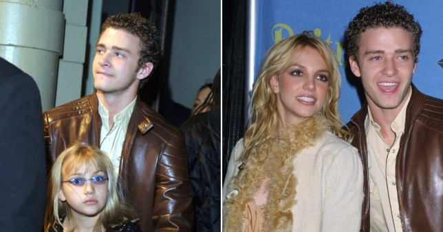 Britney Spears, Jamie Lynn Spears and Justin Timberlake
