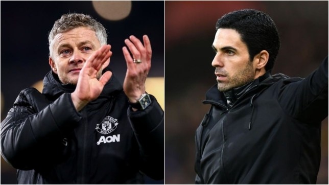 Manchester United visit Arsenal on New Year's Day