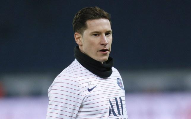 PSG midfielder Julian Draxler is on Chelsea's transfer shortlist for January