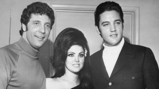 Tom Jones, Priscilla Presley and Elvis