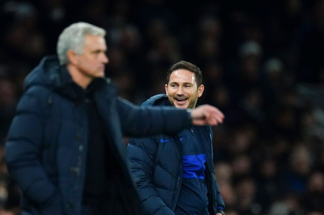 Jose Mourinho was beaten by his former player Frank Lampard