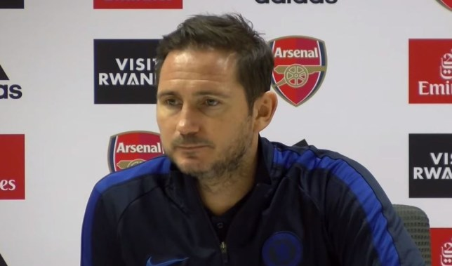 Frank Lampard spoke highly of Mikel Arteta after Arsenal's defeat to Chelsea
