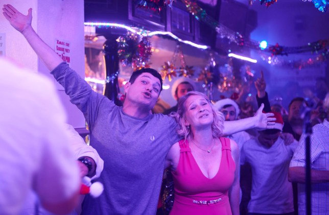 WARNING: Embargoed for publication until 00:00:01 on 03/12/2019 - Programme Name: Gavin and Stacey - TX: n/a - Episode: Gavin and Stacey Christmas Special 2019 (No. n/a) - Picture Shows: Gavin Shipman (MATHEW HORNE), Stacey Shipman (JOANNA PAGE) - (C) GS TV Productions Ltd - Photographer: Tom Jackson