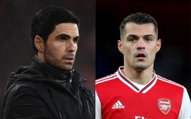 Granit Xhaka has reportedly told Mikel Arteta he wants to leave Arsenal