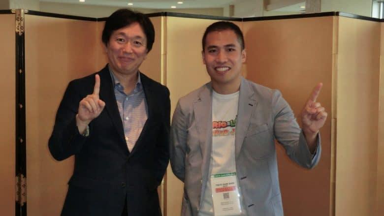 Sohei Niikawa, NIS (Left), Limarc Ambalina, KeenGamer (Right)