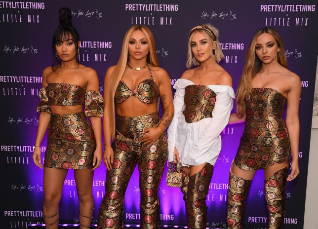 Little Mix at a Pretty Little Thing launch