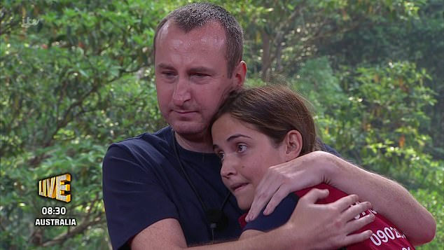 Reigning supreme: Jacqueline Jossa narrowly beat Andy Whyment to claim victory on I'm A Celebrity... Get Me Out Of Here!