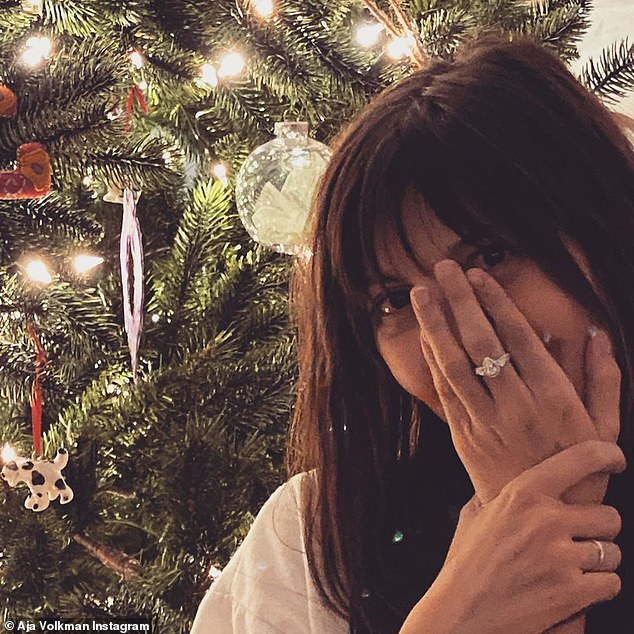 'Tis the season! Dan Reynolds surprised wife Aja with a new commitment by proposing with a gorgeous engagement ring for Christmas on Wednesday evening