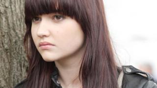 Jacqueline as Lauren in EastEnders back in 2010
