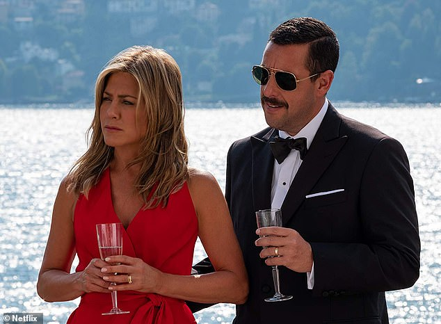 Jennifer Aniston and Adam Sandler's Murder Mystery film has topped Netflix's most watched title, with 73 million people tuning in within the first four weeks of the title's release