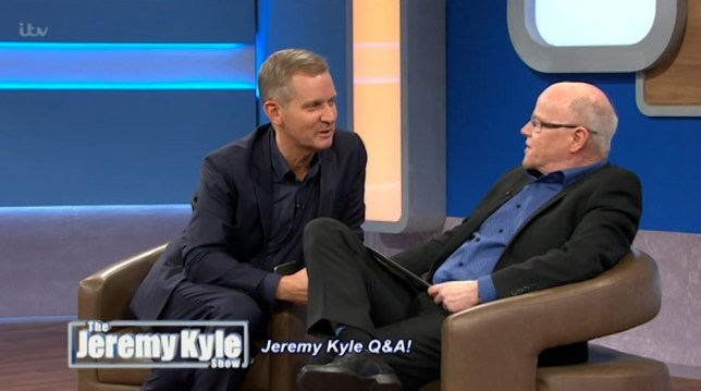 Jeremy Kyle and Graham