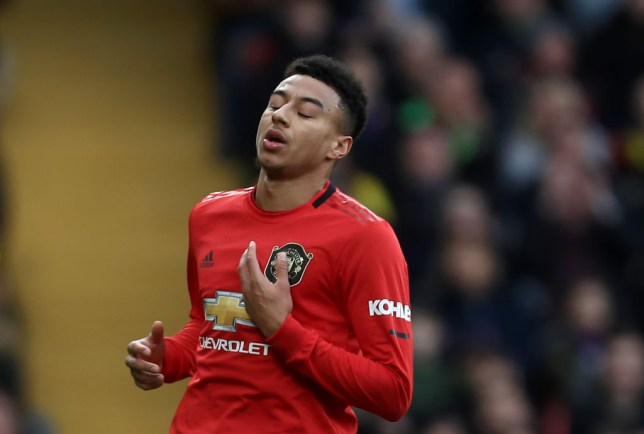 Jesse Lingard was guilty of a shocking miss during Man Utd's defeat at Watford