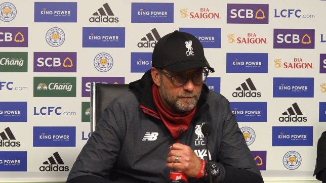 Jurgen Klopp talked up Neco Williams after Liverpool beat Leicester City