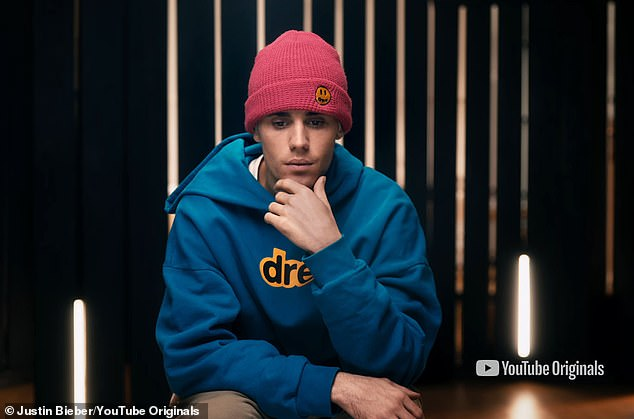 He's back: On Tuesday, Justin Bieber revealed the first trailer for his upcoming docuseries Justin Bieber: Seasons in which he gives a behind-the-scenes look at the making of his first album in four years