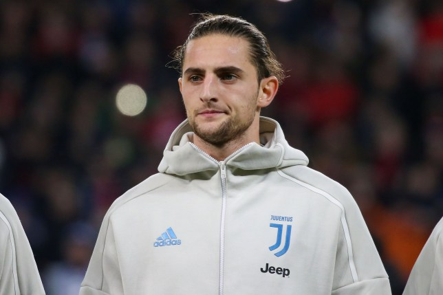 Juventus midfielder Adrien Rabiot is reportedly on Arsenal's transfer shortlist