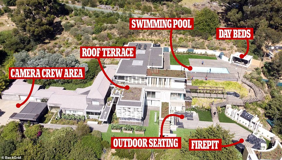 Look at that! Love Island 2020 is nearing its air date, and the sprawling South African villa that will be the home for this year's sexy singletons is nearing its completion