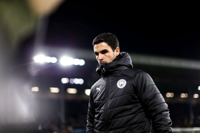 Arsenal are set to announce Mikel Arteta in the coming days