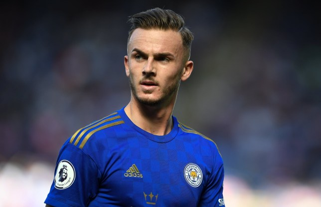 James Maddison is believed to be keen on a move to Manchester United