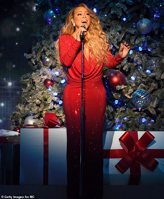 The latest:Mariah Carey, 49, has achieved another groundbreaking feat on the success of her trademark holiday hit, All I Want for Christmas Is You. She was snapped performing in NYC earlier this month