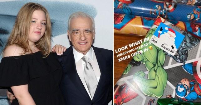 Martin Scorsese's daughter trolls him