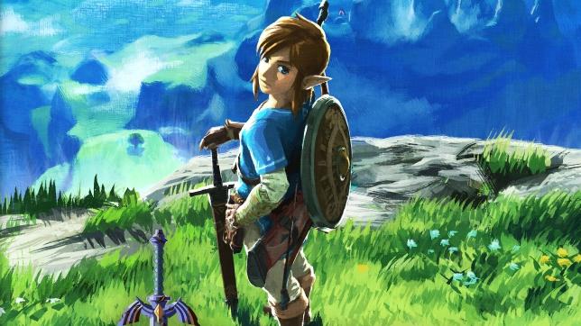 The Legend Of Zelda: Breath Of The Wild key art