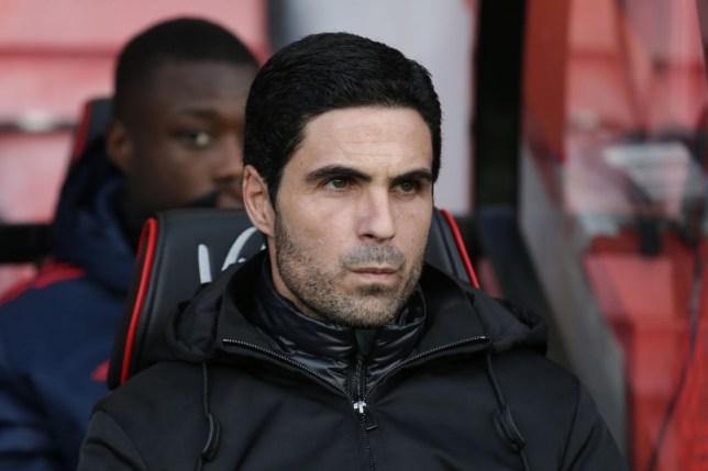 New Arsenal head coach Mikel Arteta makes managerial debut