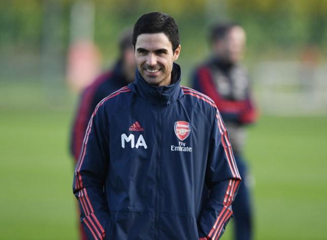 New Arsenal boss Mikel Arteta