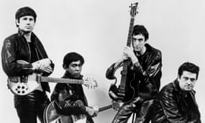 Pre-Fab Four … the Rutles, from left, Neil Innes, Ricky Fataar, Eric Idle and John Halsey.