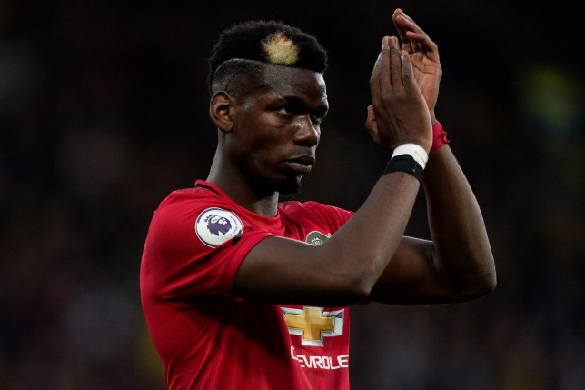 Paul Pogba is named as a substitute for Manchester United's clash with Newcastle United