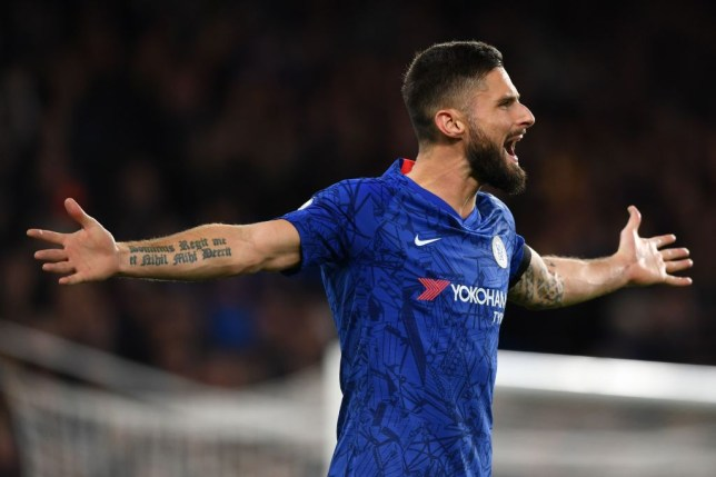 Olivier Giroud has been ousted from Chelsea's starting line-up by Tammy Abraham
