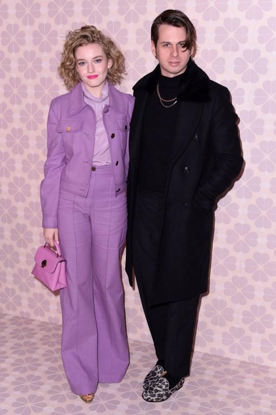 Julia Garner and Mark Foster
