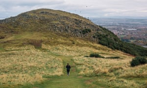 'The extinct volcano, Arthur's Seat, dominates Edinburgh's skyline.'