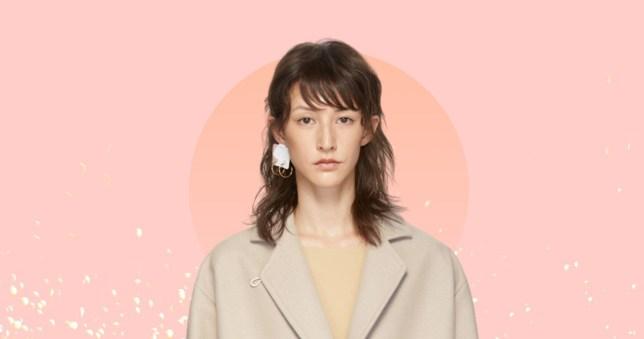 maison margiela earring