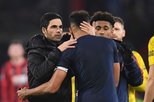 Pierre-Emerick Aubameyang is impressed with Mikel Arteta's message to Arsenal's players