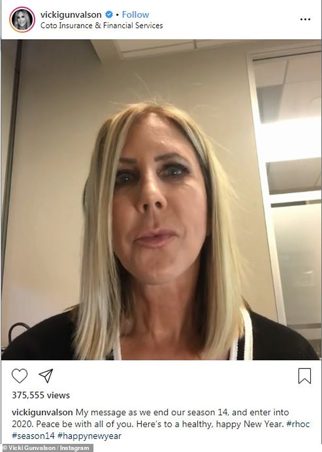 The latest: Vicki Gunvalson, 57, took to Instagram Stories Saturday to say she is not homophobic, responding to people who said that her outburst on the Bravo show's reunion against costar Braunwyn Windham-Burke, 42, reeked of anti-gay sentiment